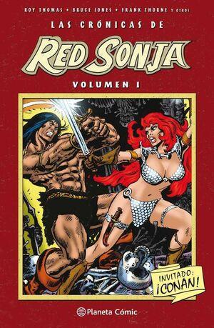 LAS CRONICAS DE RED SONJA #01 (PLANETA COMICS)