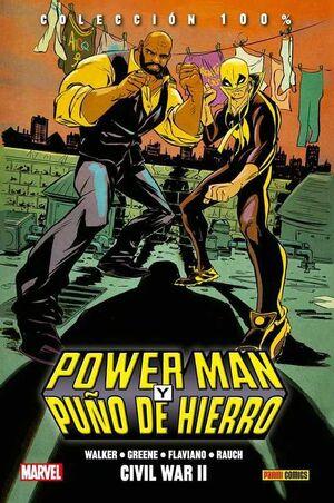 POWER MAN Y PUÑO DE HIERRO #02. CIVIL WAR II (100% MARVEL HC.)