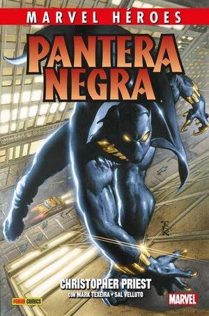 MARVEL HEROES #085: PANTERA NEGRA DE CHRISTOPHER PRIEST 1