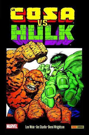 LA COSA VS HULK (100% MARVEL HC)