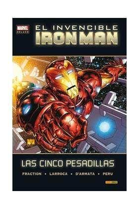 EL INVENCIBLE IRON MAN. LAS CINCO PESADILLAS (MARVEL DELUXE)