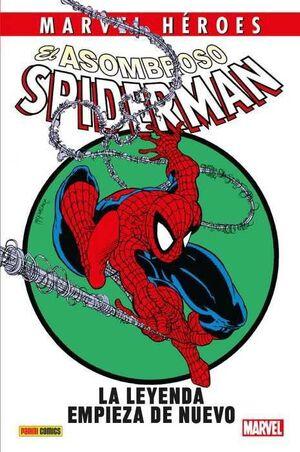 MARVEL HEROES #089: EL ASOMBROSO SPIDERMAN. LA LEYENDA EMPIEZA DE NUEVO