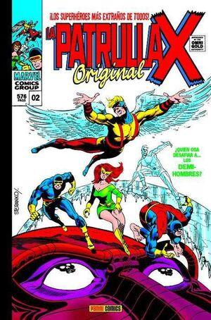 LA PATRULLA-X ORIGINAL #02 QUIEN OSA DESAFIAR A... LOS SEMI-HOMBRES?(M.GOLD