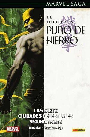 MARVEL SAGA #070. EL INMORTAL PUÑO DE HIERRO 03:LAS 7CIUDADES CELESTIALES2