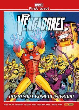 MARVEL FIRST LEVEL #12. LOS VENGADORES: VIENEN DEL ESPACIO INTERIOR!