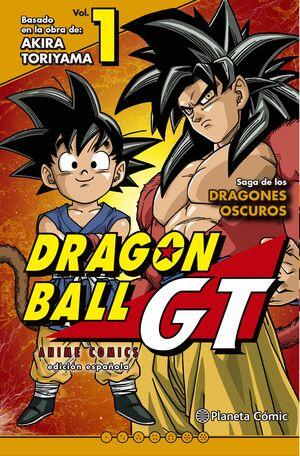 DRAGON BALL GT SAGA DRAGONES OSCUROS #01