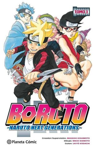 BORUTO. NARUTO NEXT GENERATIONS #03
