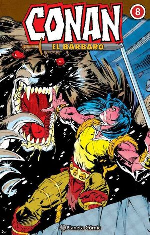 CONAN EL BARBARO. INTEGRAL #008