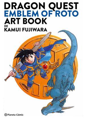 DRAGON QUEST: EMBLEM OF ROTO. ART BOOK