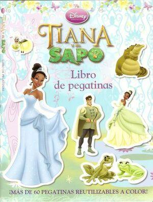 TIANA Y EL SAPO LIBRO DE PEGATINAS