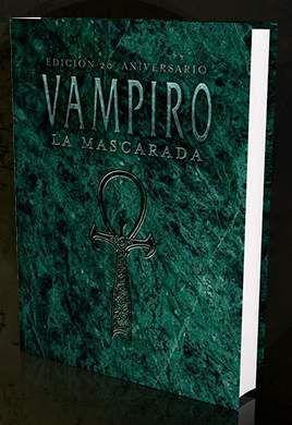 VAMPIRO LA MASCARADA 20 ANIV PACK PREMIUM + DADOS + PANTALLA + FOTO FIRMADA