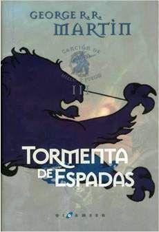 CANCION DE HIELO Y FUEGO VOL.3: TORMENTA DE ESPADAS ED. LUJO