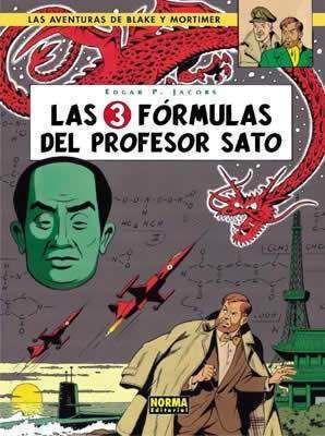 BLAKE Y MORTIMER #08. LAS 3 FORMULAS DEL PROFESOR SATO 1