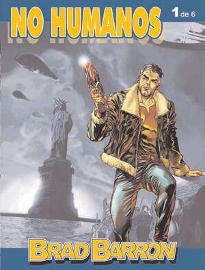 BRAD BARRON #01: NO HUMANOS