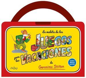 LA MALETA DE JUEGOS PARA VACACIONES (GERONIMO STILTON)