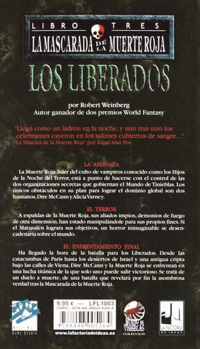 LA MASCARADA DE LA MUERTE ROJA #3: LOS LIBERADOS