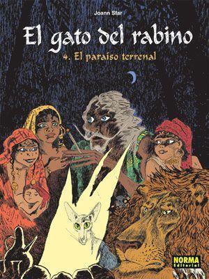 EL GATO DEL RABINO #04. EL PARAISO TERRENAL