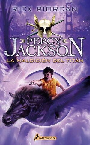 PERCY JACKSON III. LA MALDICION DEL TITAN