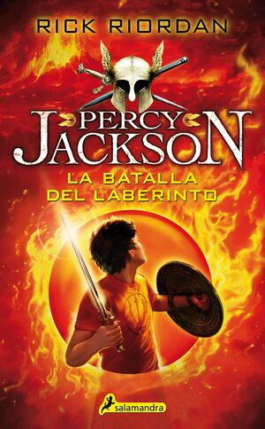 PERCY JACKSON IV. LA BATALLA DEL LABERINTO