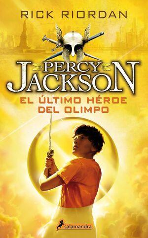 PERCY JACKSON V. EL ULTIMO HEROE DEL OLIMPO