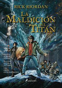 PERCY JACKSON #03. LA MALDICION DEL TITAN (COMIC)