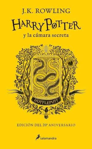 HARRY POTTER Y LA CAMARA SECRETA. EDICION HUFFLEPUFF 20 ANIVERSARIO