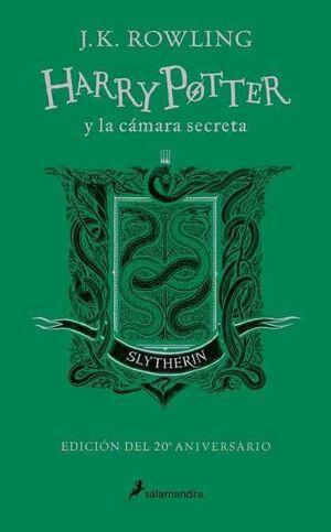 HARRY POTTER Y LA CAMARA SECRETA. EDICION SLYTHERIN 20 ANIVERSARIO