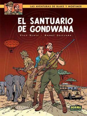 BLAKE Y MORTIMER #18. EL SANTUARIO DE GONDWANA