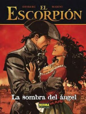 EL ESCORPION #08. LA SOMBRA DEL ANGEL (CARTONE)
