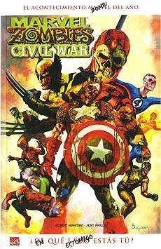 MARVEL ZOMBIES #02. CIVIL WAR