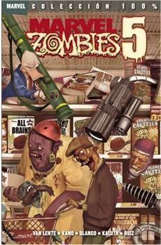 MARVEL ZOMBIES #05: LA BELLA EL PATO Y EL ROBOT