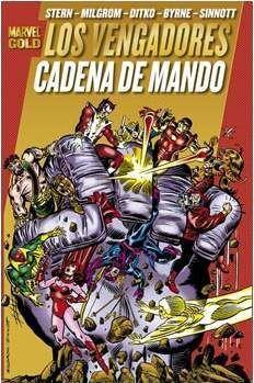 LOS PODEROSOS VENGADORES #05. CADENA DE MANDO (MARVEL GOLD)