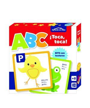 APRENDO EN CASA. BITS CON TEXTURAS: ABC TOCA TOCA