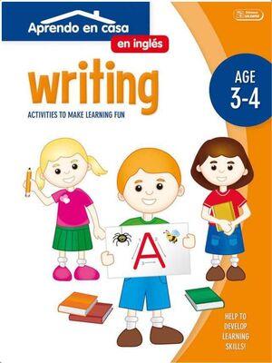 APRENDO EN CASA INGLES (3-4 AÑOS) WRITING