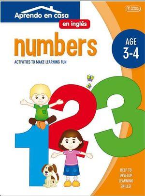 APRENDO EN CASA INGLES (3-4 AÑOS) NUMBERS