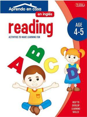 APRENDO EN CASA INGLES (4-5 AÑOS) READING