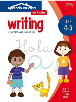 APRENDO EN CASA INGLES (4-5 AÑOS) WRITING