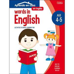 APRENDO EN CASA INGLES (4-5 AÑOS) WORDS IN ENGLISH