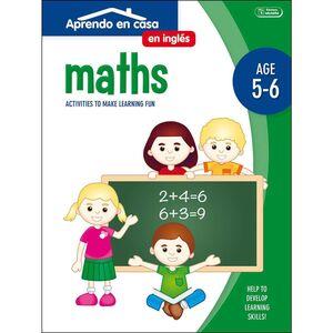 APRENDO EN CASA INGLES (5-6 AÑOS) MATHS