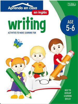 APRENDO EN CASA INGLES (5-6 AÑOS) WRITING