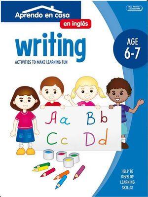 APRENDO EN CASA INGLES (6-7 AÑOS) WRITING