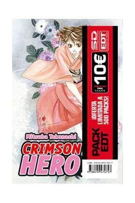 PACK EDT: CRIMSON HERO (VOL.1 AL 5)