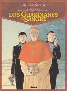 EL TRIANGULO SECRETO. LOS GUARDIANES DE SANGRE #01
