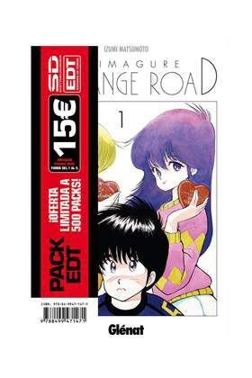PACK EDT: KIMAGURE ORANGE ROAD (VOLS. 1 A 5) 5 TOMOS