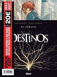 PACK EDT: DESTINOS (TOMOS 1 A 3)