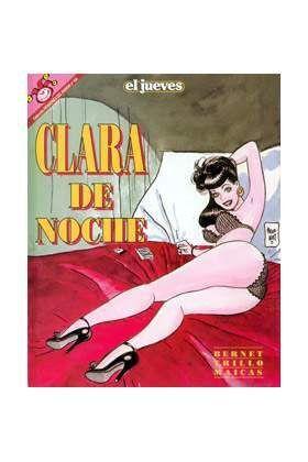 PACK PENDONES DEL HUMOR: CLARA DE NOCHE (5 TOMOS)