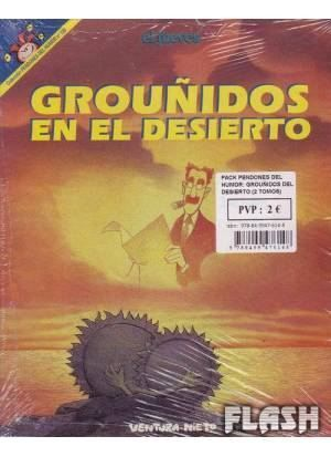 PACK PENDONES DEL HUMOR: GROUÑIDOS EN EL DESIERTO (2 TOMOS)