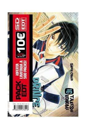 PACK EDT: PRINCE OF TENNIS (VOL.16 AL 20)