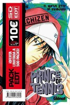 PACK EDT: PRINCE OF TENNIS (VOL.21 AL 25)