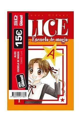 PACK GLENAT: ALICE ESCUELA DE MAGIA (VOLS.1 A 4)